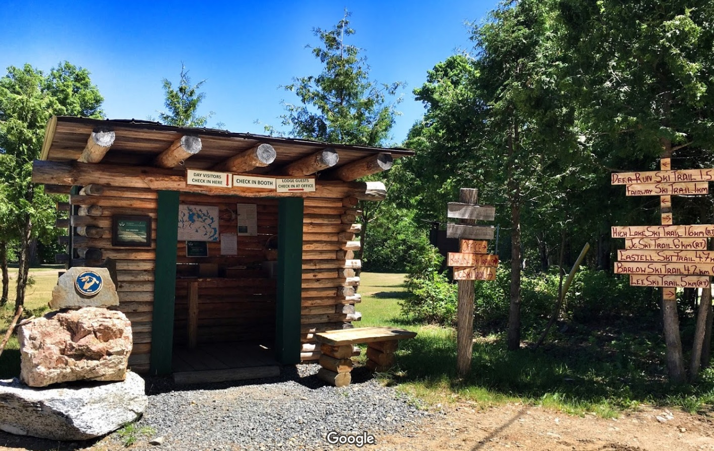 Limberlost forest and wildlife reserve hiking trails for Camps and cottages