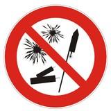 No fireworks Symbol