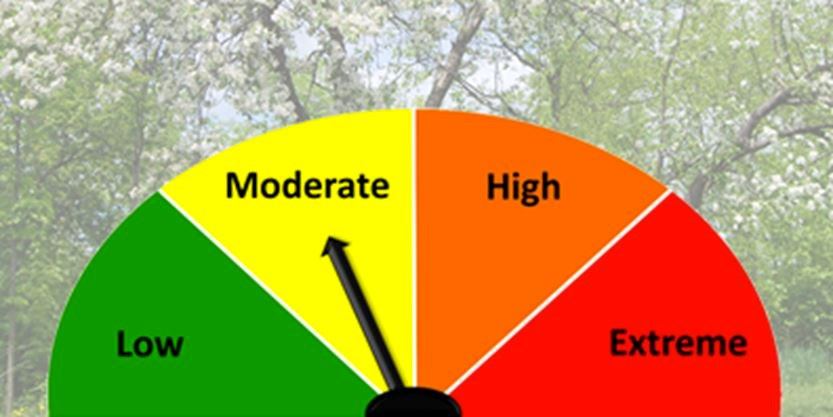 Moderate Fire rating